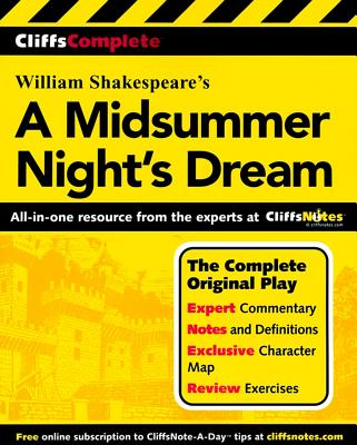 Cliffscomplete Shakespeare's a Midsummer Nights Dream By McMahon, Michael (EDT)